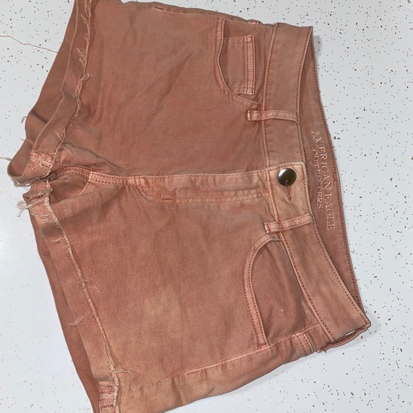 American Eagle Outfitters Pants - American eagle|Blush|High Rise Super Stretch Short